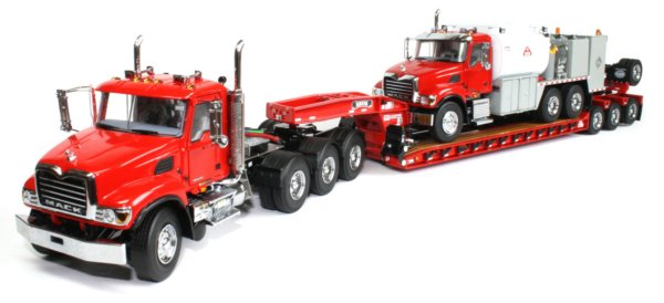 Mack Granite 4-Axle Tractor with Rogers 4-Axle Lowboy